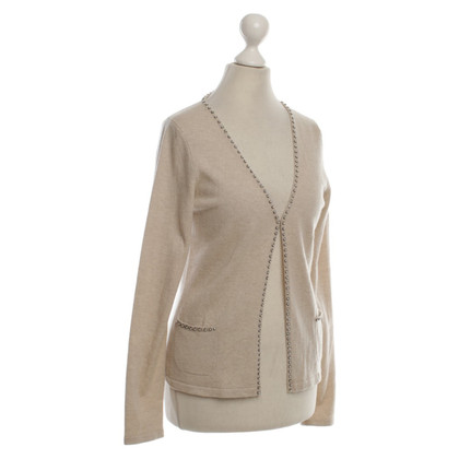 Laurèl Cardigan in cashmere con perline