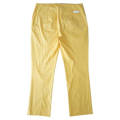 Prada Pantaloni di cotone giallo di Mango Straight