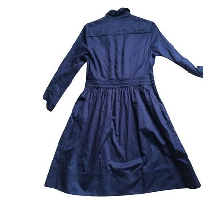 Diane von Furstenberg navy blue summer dress
