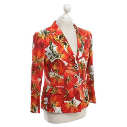 Dolce & Gabbana Blazer mit Muster