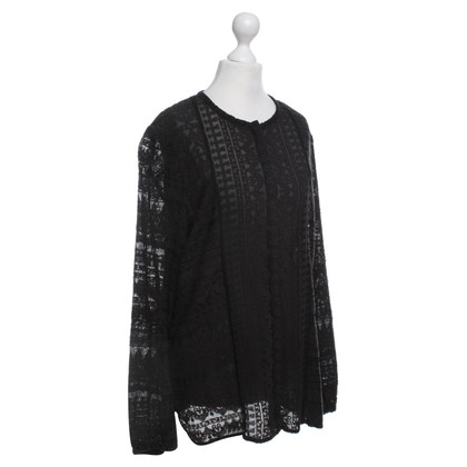 Isabel Marant Cardigan with burn-out pattern