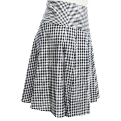 Michael Kors skirt with check pattern