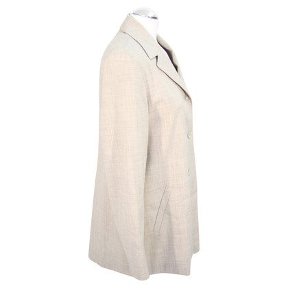 Escada Wool blazer in light gray