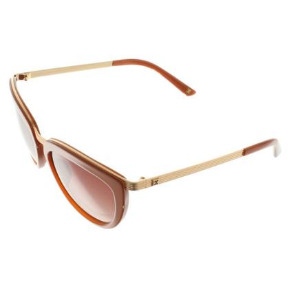 Escada Sunglasses in Gold / Brown