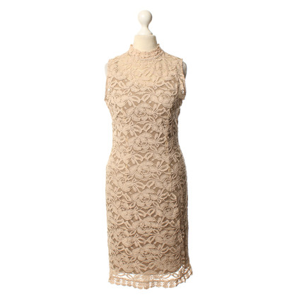 Other Designer Lace dress in beige