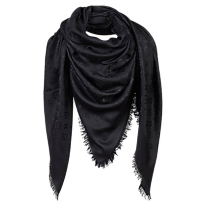 Louis Vuitton Monogramdoek in zwart