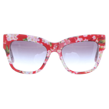 Dolce & Gabbana Sunglasses with flower pattern