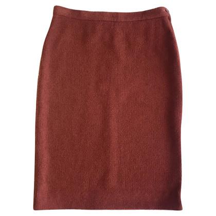 Sonia Rykiel Wool skirt in brick color