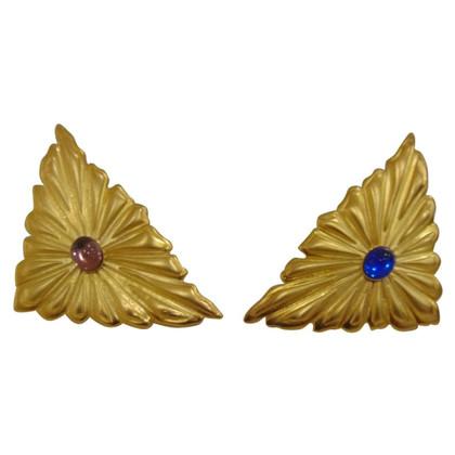Emilio Pucci Emilio Pucci gold tone cufflinks Unworn