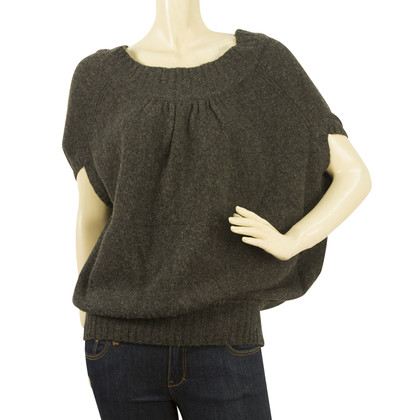 Diane von Furstenberg wool jumper with short sleeve