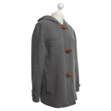 Escada manteau de laine courte