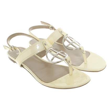 Hugo Boss Patent leather sandals