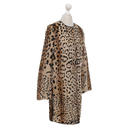 Max Mara Coat with leopard print