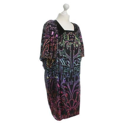 Matthew Williamson Colorful tunic with puffed sleeves