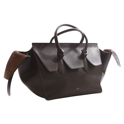 "Céline ""Tie knoop Bag"" in zwart"