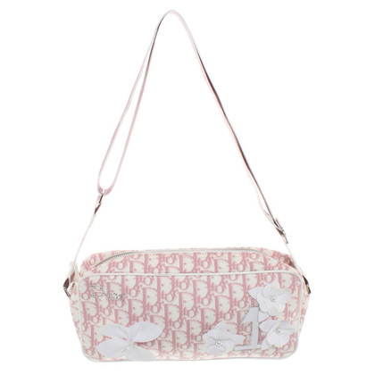 Christian Dior Handbag in pink / white