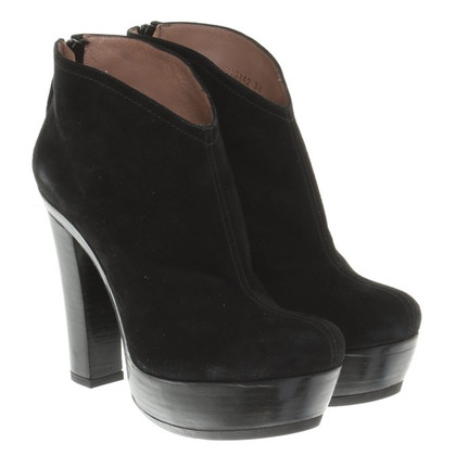 Pura Lopez Ankle boots in black