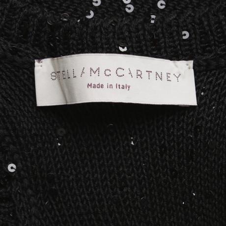 Verkauf 2018 Unisex Stella McCartney Pullunder mit Pailletten Schwarz Günstiges Online-Shopping Erschwinglich Günstig Online FOma3cxmk