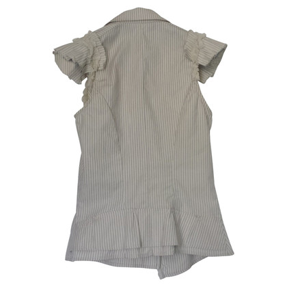 Plein Sud Sleeveless blouse with striped pattern