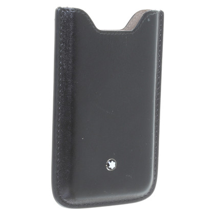 Mont Blanc IPhone 4 case black