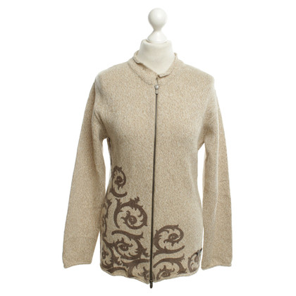 Versace Cardigan in Beige
