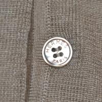 Hermès Top aus Kaschmir/Seide