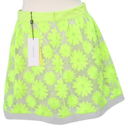Karen Millen Neon groene rok