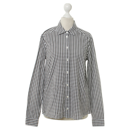Gucci Blouse met Houndstooth patroon
