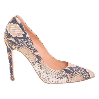 Gianvito Rossi pumps imprimé serpent