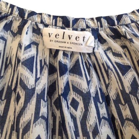 Velvet Bluse Muster mit Muster Velvet Bluse Muster Bunt mit ZAIxwant
