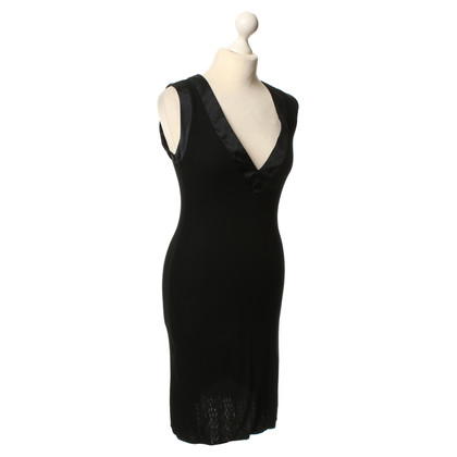 Giorgio Armani Flowing dress in black