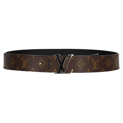 Louis Vuitton reversible belt from Monogram Canvas