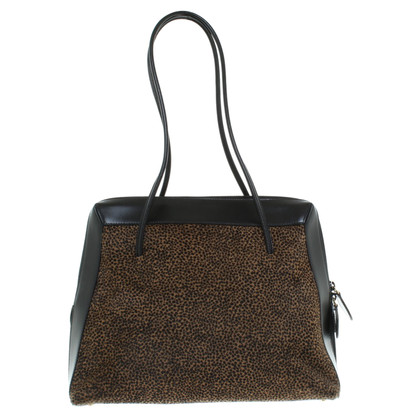 Walter Steiger Handbag with leopard pattern