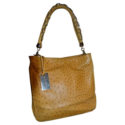 Coccinelle Handbag in ostrich leather look