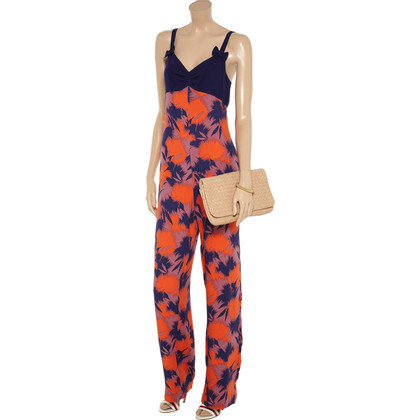 Jill Stuart Jill Stuart of printed silk crepe jumpsuit jumpsuit new GR. 34,36