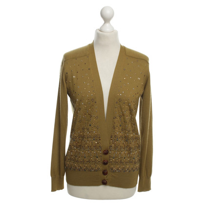 Louis Vuitton Cashmere cardigan with studs