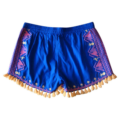 Maison Scotch Shorts with embroidery