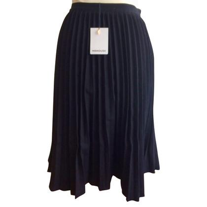 Manoush Pleated skirt in black