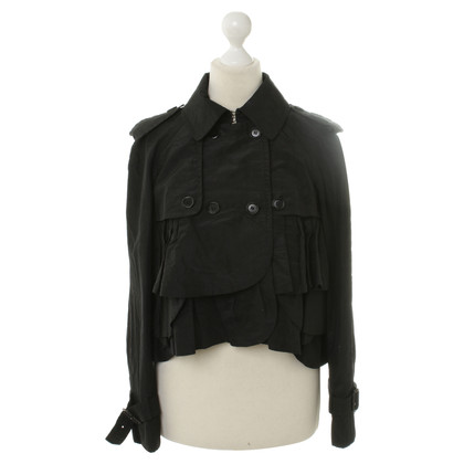 Moschino Cheap and Chic Bolero-Jäckchen in Schwarz