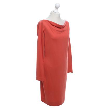 Diane von Furstenberg Jersey jurk in rood
