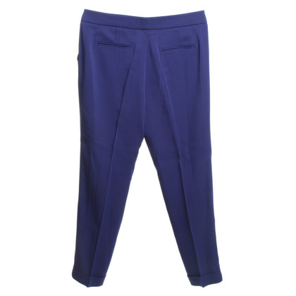Etro Wrap-around trousers in violet