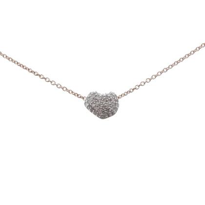 Andere Marke Monica Vinader  - Halskette mit Herz-Motiv
