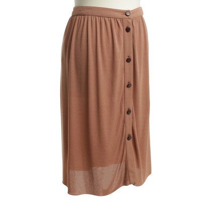 Burberry skirt with button placket