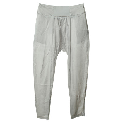 Rich & Royal Harem pants in light grey