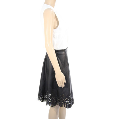 Patrizia Pepe Kleid in Schwarz/Weiß