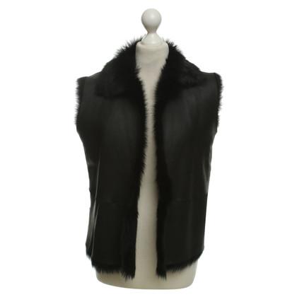 Other Designer Vest in black