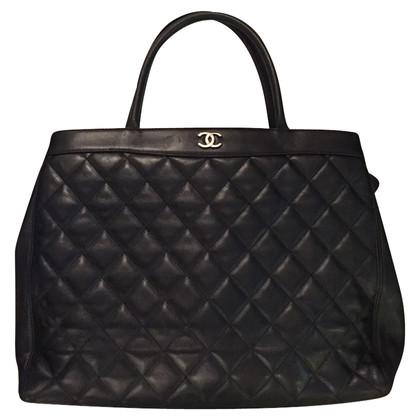Chanel Maxi borsa Chanel in pelle nera