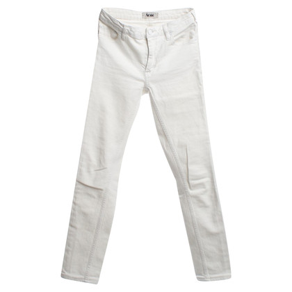 Acne Jeans in White