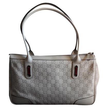 Gucci Schultertasche mit Guccissima-Muster