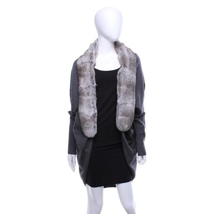 FFC Cardigan with real fur